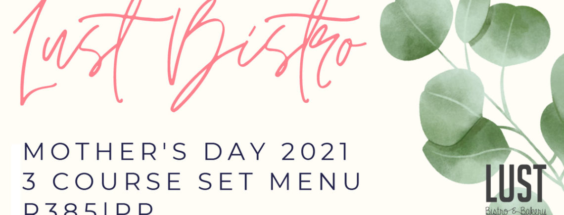 Mother's Day Menu 2021